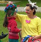 Kinder-Clownin