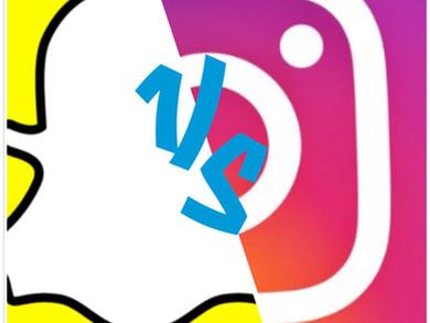 Instagram vs. Snapchat se enfrentan