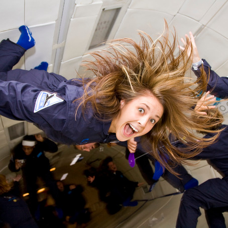 What's Zero-Gravity and How Does It Feel Like?