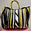 Thumbnail: Anya Hindmarch 'Belvedere' Black, Yellow and White Tote