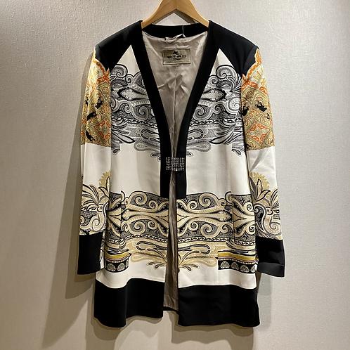 Etro Milano Paisley 'dress' Jacket Size 14