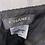 Thumbnail: Chanel black wool boucle skirt