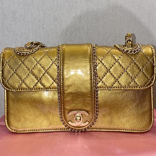 Chanel Gold handbag