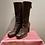 Thumbnail: Prada Leather Brown Boots EU39