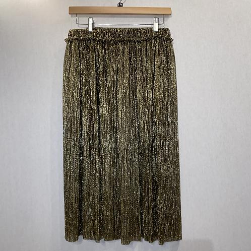 Isabel Marant gold skirt