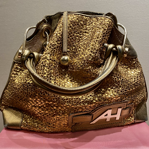 Anya Hindmarch Golden Handbag