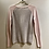 Thumbnail: Duffy Cashmere Jumper with Grey Reverse Size Small