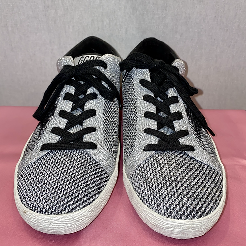 Golden Goose silver Trainers size 5