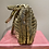 Thumbnail: Anya Hindmarch Gold 'Neeson' Handbag