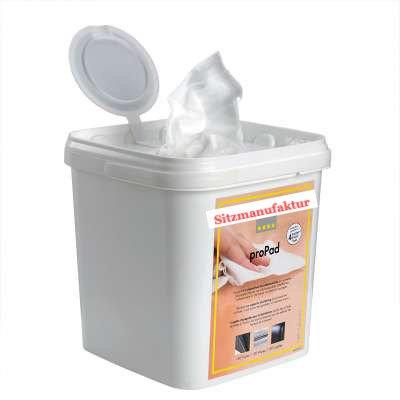 Perfect proPad Spenderbox inkl. XL Desinfektions-Tücher, 100 Stk.