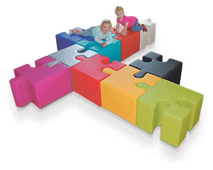 Puzzle-Hocker