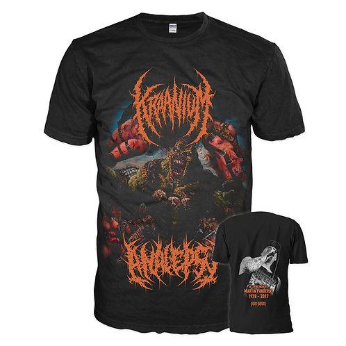 The Kraanialepsy Split (T-Shirt)