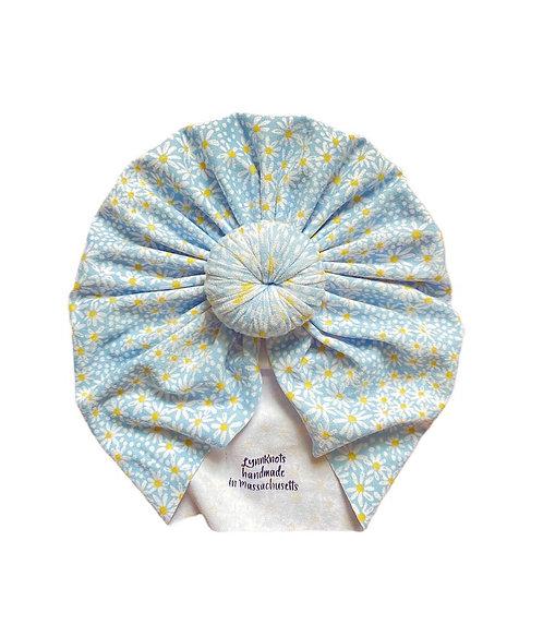 Baby Blue Daisy Knot
