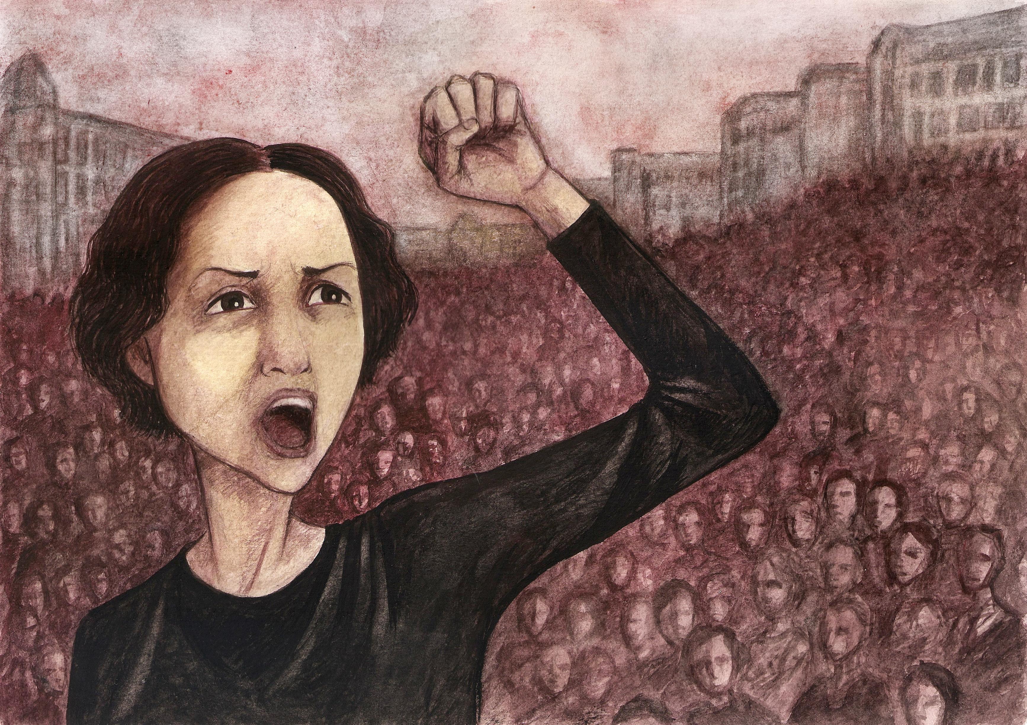 Mujeres del movimiento libertario