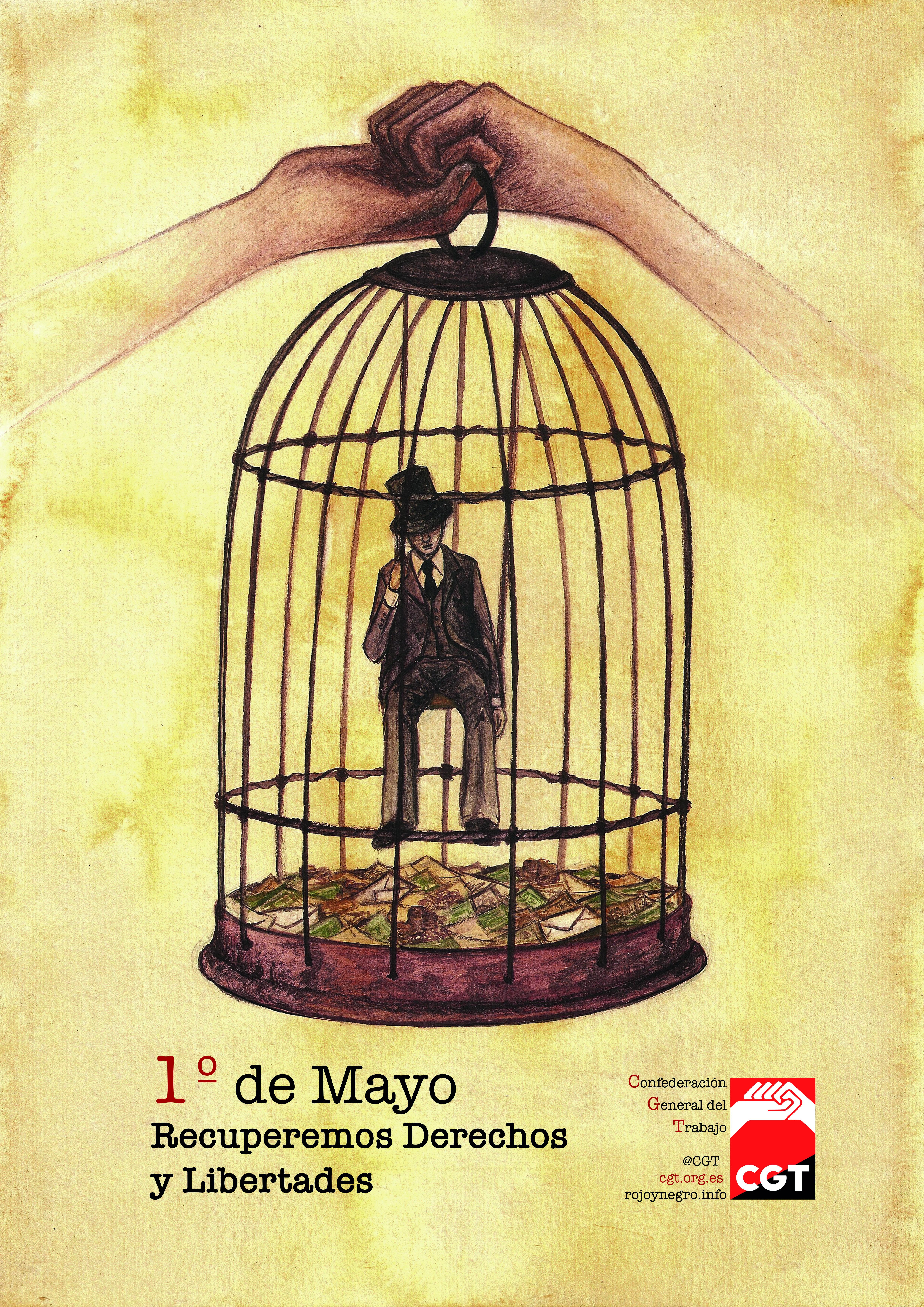 Cartel Cgt 1 de Mayo