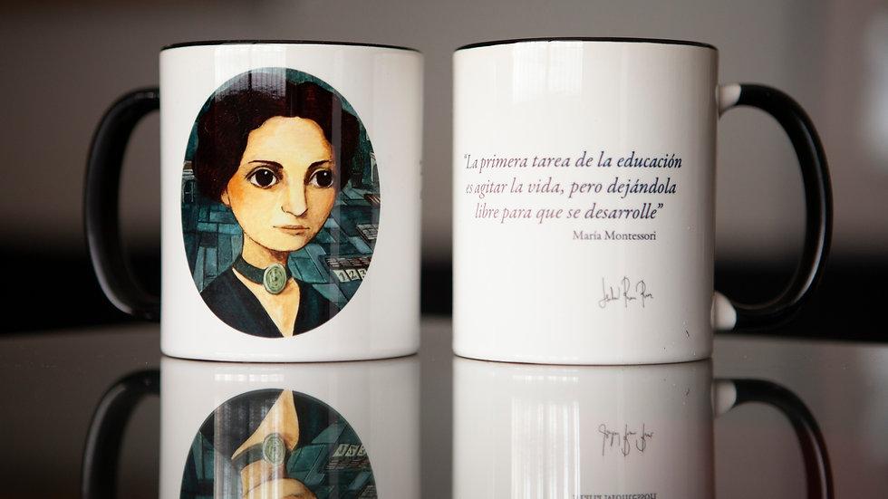 Taza María Montessori
