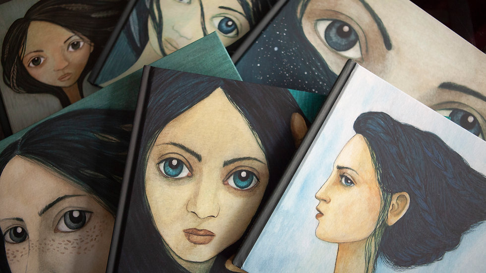Colección Mujeres + pack 18 tarjetas A6 Mujeres españolas