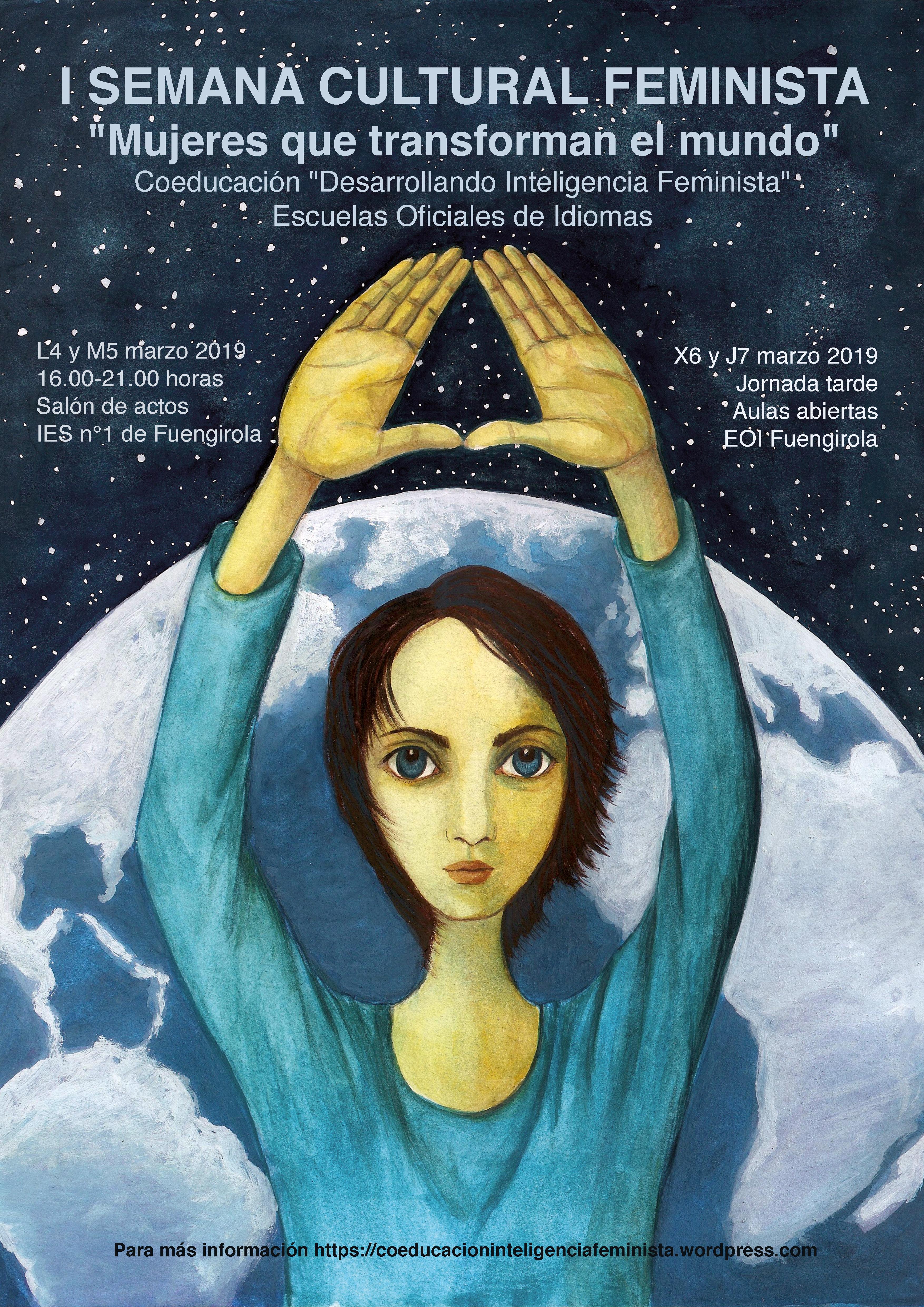 Cartel I Semana Cultural Feminista
