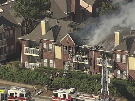 Windhaven Park Apartments Fire