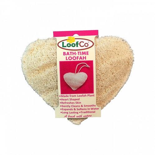 Loofah - Heart Shape