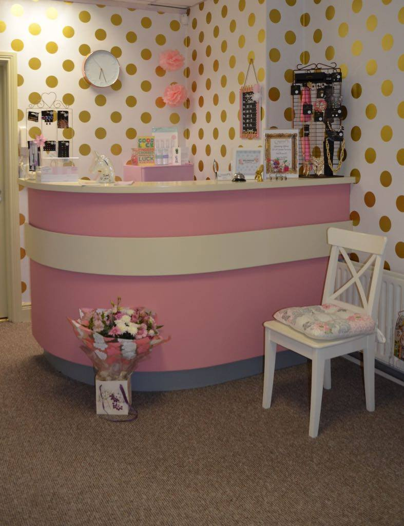 Reception of old salon