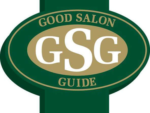 Absolutely delighted to be awarded 5 stars by The Good Salon Guide