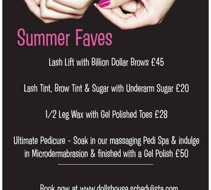 Summer Faves NOW available to book!!
