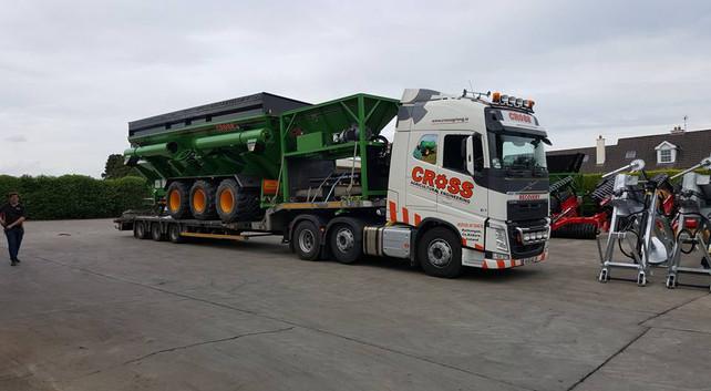 Cross Truck Driving Job