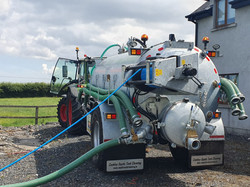 Drain Cleaning Tanker