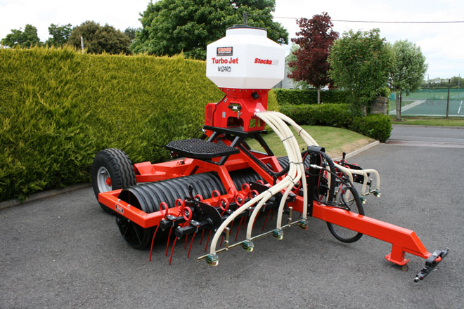 3 meter Cross Ring Roller with seeder