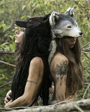 Gruliette : création de coiffes loup