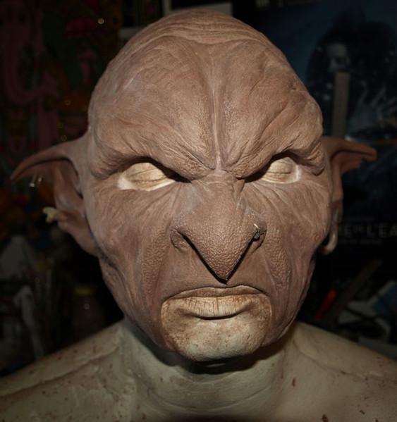 Sculpture Masque de Gobelin