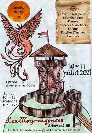 Festival Ternand Médiéval - Exposant Gruliette