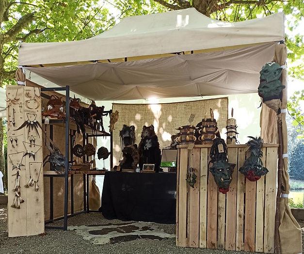 Echoppe de Gruliette, Festival Médiéval Fantastique France.