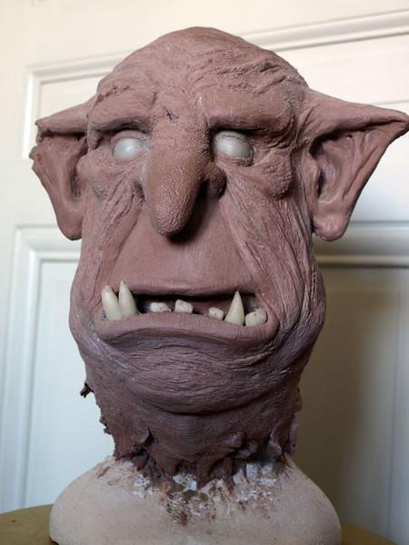 Sculpture Tête de Troll