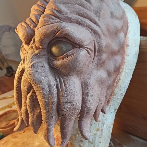 Sculpture Poulpe