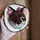 Thumbnail: Décoration murale - Totem renard