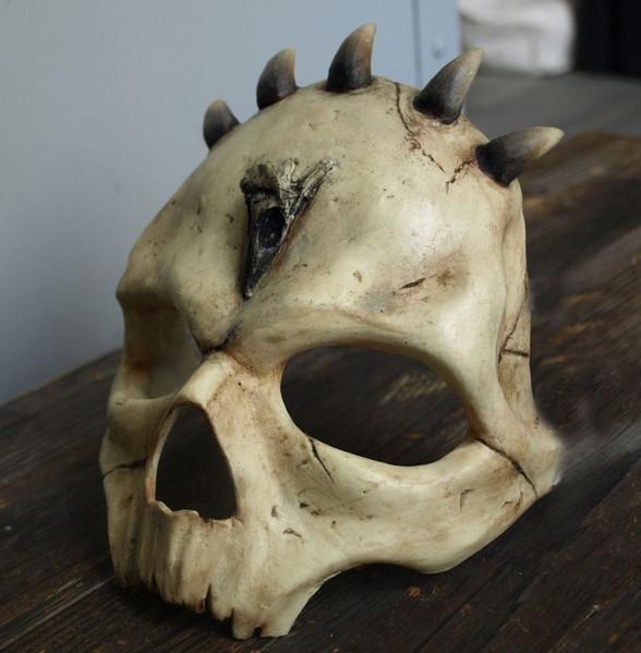 Demi masque Crâne