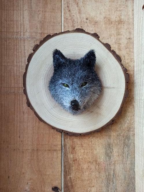 Décoration murale - Totem loup