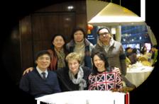 Dinner Meeting with Prof. Linda Sobell