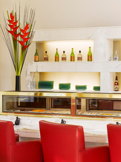 Trident Gurgaon Konomi Sushi Counter