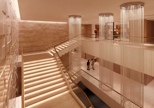 Trident Hyderabad Grand Staircase