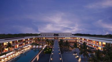 Intercon Mahabalipuram Central Courtyard Aerial