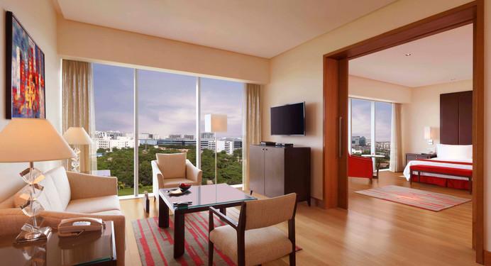 Trident Hyderabad Delux Suite