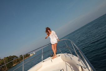 The Lady On The Yacht