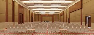 Oberoi Dubai Theater Setup