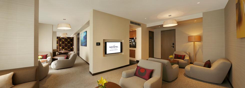 Novotel Aerocity Crew Lounge