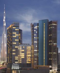 Oberoi Dubai Exterior Night