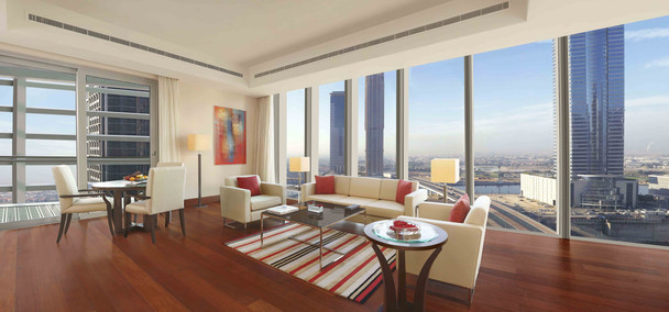 Oberoi Dubai 1315 Living Room
