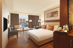 Double Tree By Hilton Agra King Guest Room